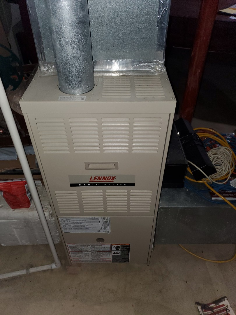 Montgomery, IL - Complete furnace maintenance. All is okay at this time.