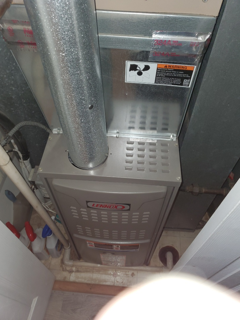 Aurora, IL - Complete furnace maintenance. All is operating properly at this time.