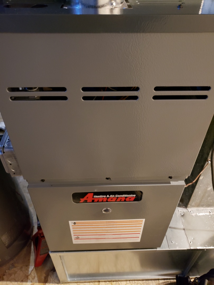 Bolingbrook, IL - Complete furnace maintenance. All equipment is working properly.