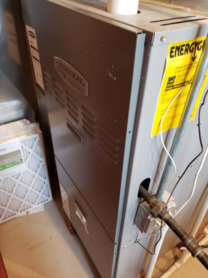 Oswego, IL - Furnace diagnostic. Replaced circuit board.