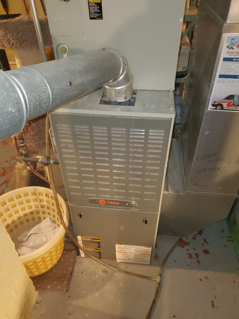Complete furnace maintenance. Customer is aware of ppm issues.