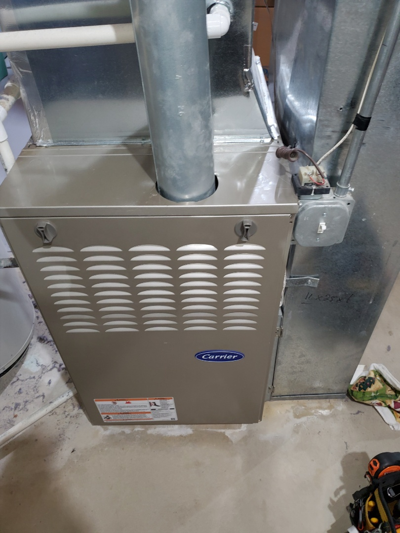 Aurora, IL - Complete furnace maintenance/ humidifier. All is working properly at this time.