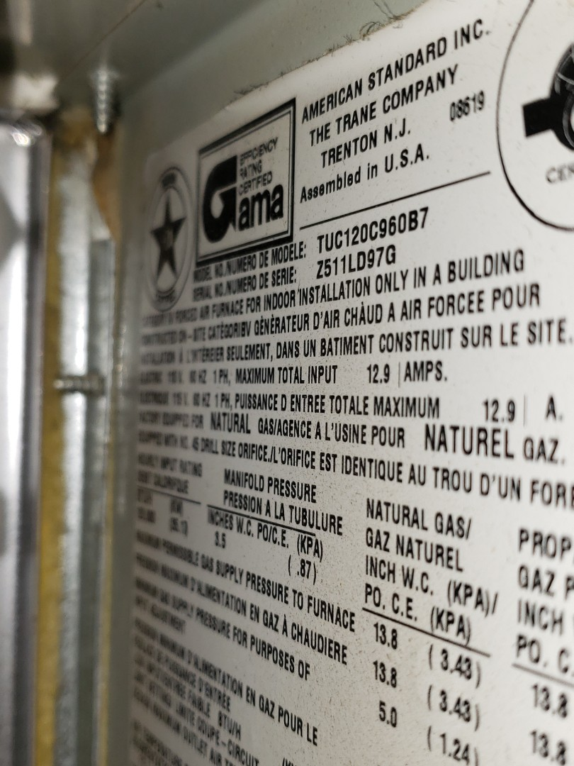 Naperville, IL - Furnace diagnostic. Recommend replacing the furnace or the inducer motor