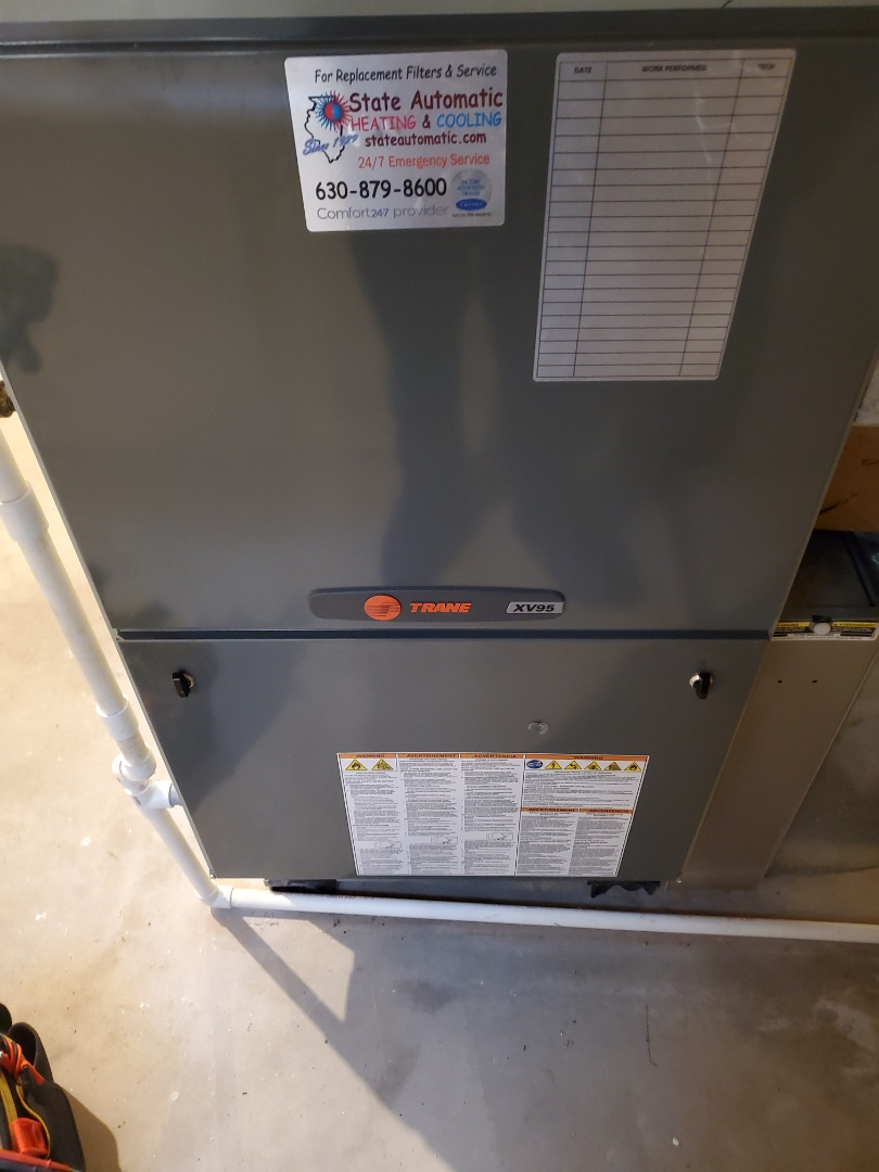 Plainfield, IL - Complete furnace diagnostic. Bad limit switch. Tripped limit and was stuck open. Fixed overheating issue as well.