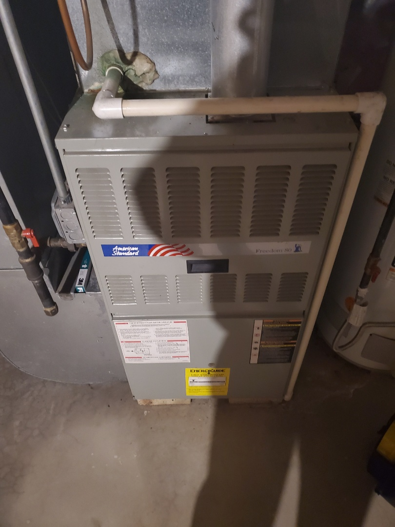Plainfield, IL - Complete furnace diagnostic. Found faulty flame sensor; all is operating properly at this time after replacement.