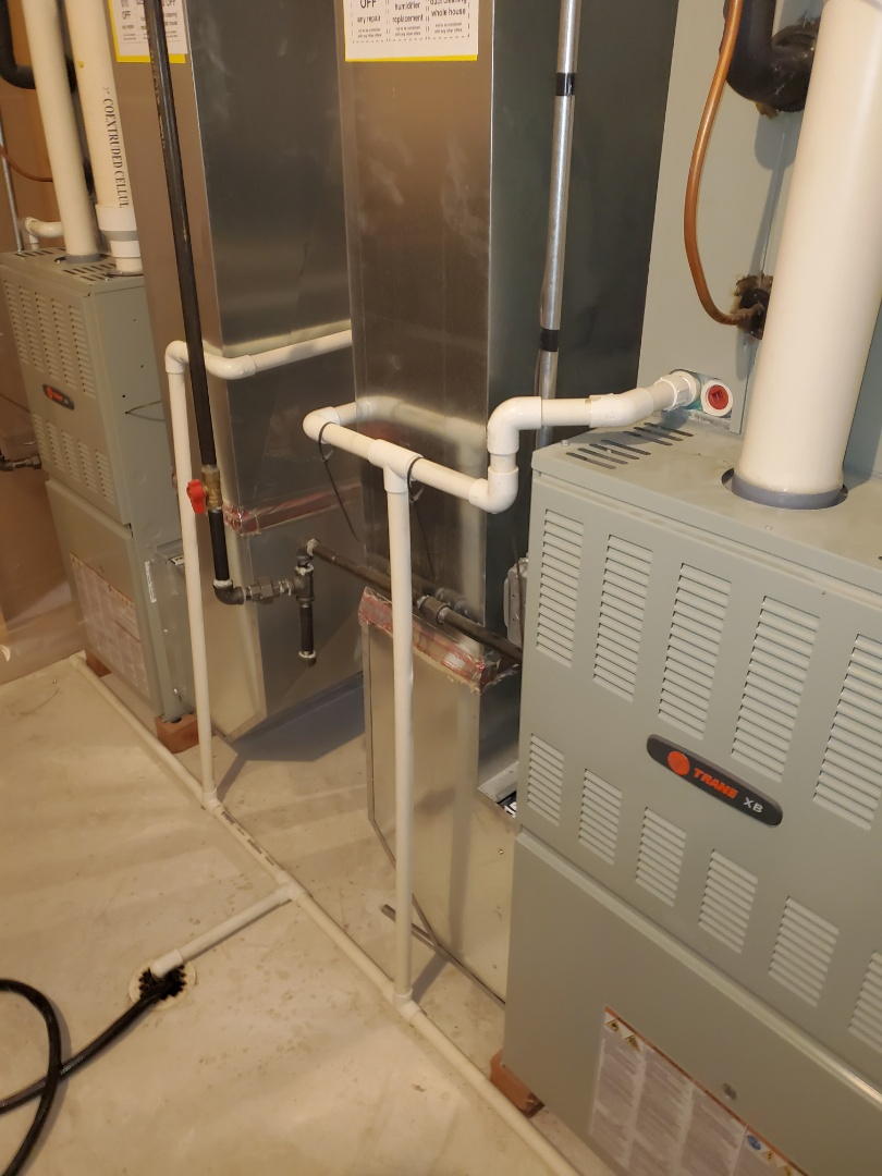 Naperville, IL - Complete furnace maintenance on 2 units. All is working properly at this time.