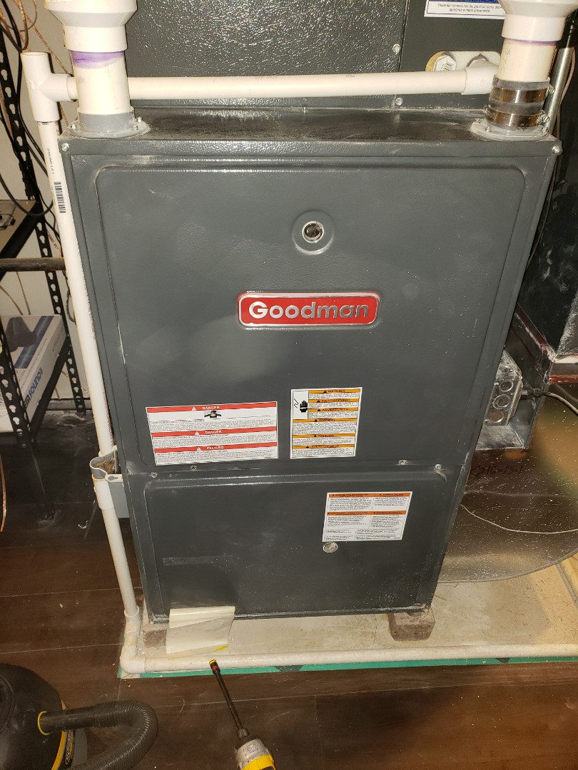 Bolingbrook, IL - Complete furnace maintenance. Recommend a duct cleaning and blower motor cleaning due to dust build up from previous construction in the basement. Furnace is operating properly at this time.