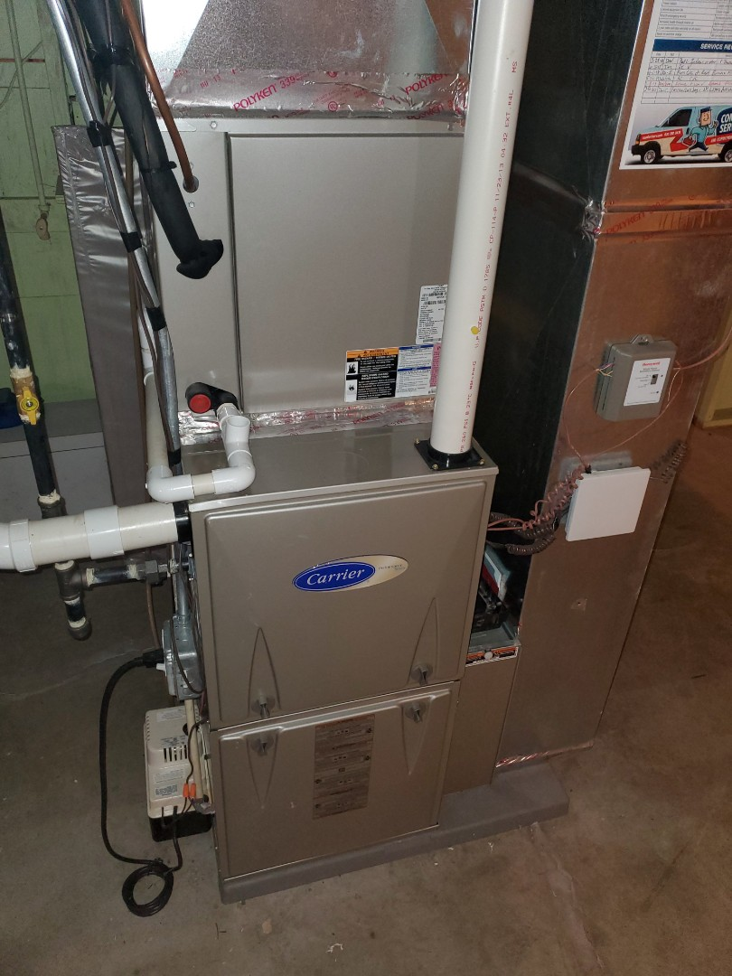 Complete furnace diagnostic. No leaks anywhere.