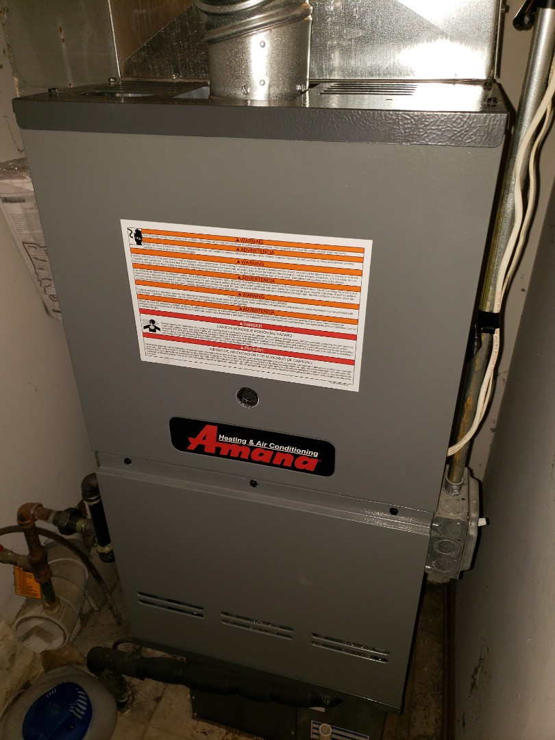 Complete furnace maintenance. Furnace is operating properly at this time.