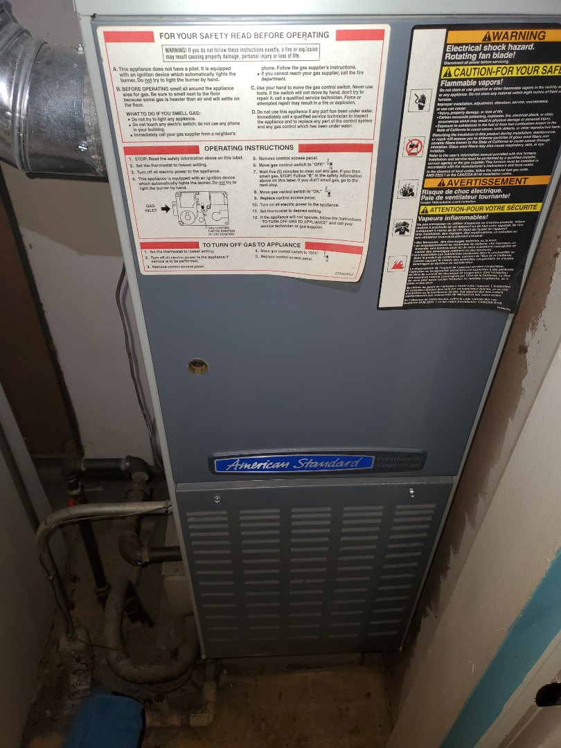 Complete furnace diagnostic. Flame sensor issue resolved.