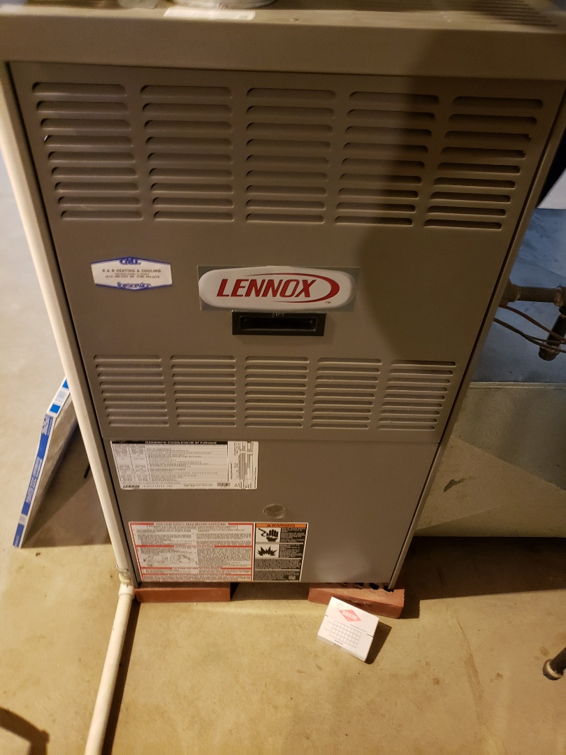 Bolingbrook, IL - Complete furnace diagnostic. Replaced thermostat and hot surface ignitor.