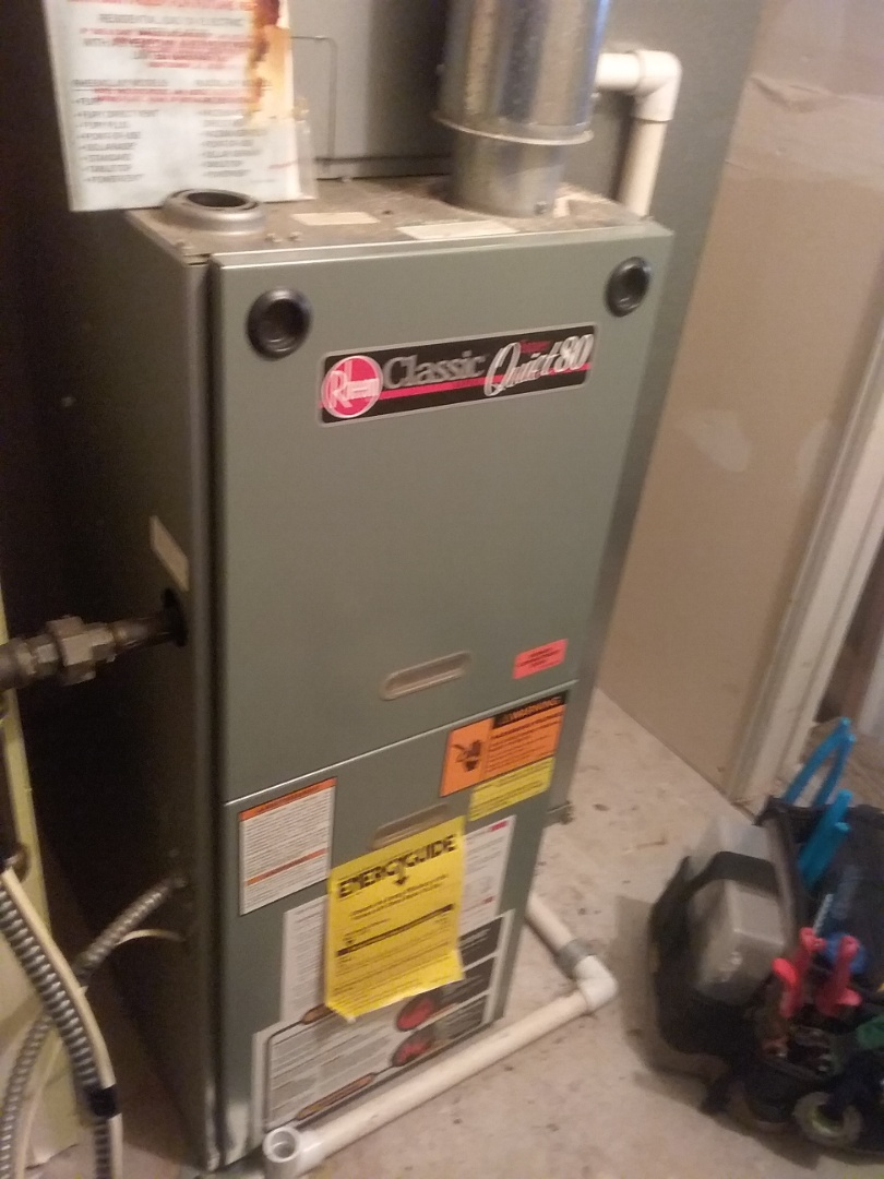 Aurora, IL - Repaired rheem furnace. Found dirty flame sensor causing system to not heat.