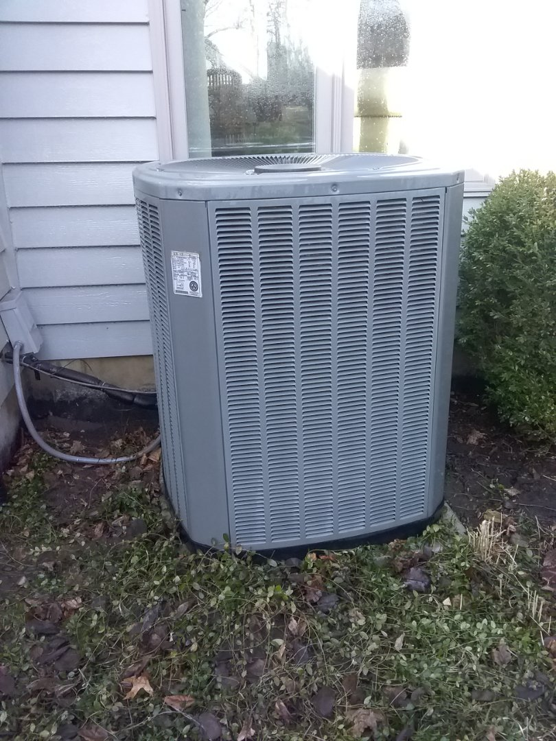 Naperville, IL - Completed spring maintenance on trane ac system.