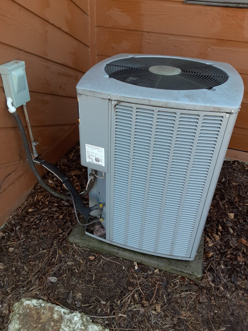 Complete ac maintenance. All is operating properly.