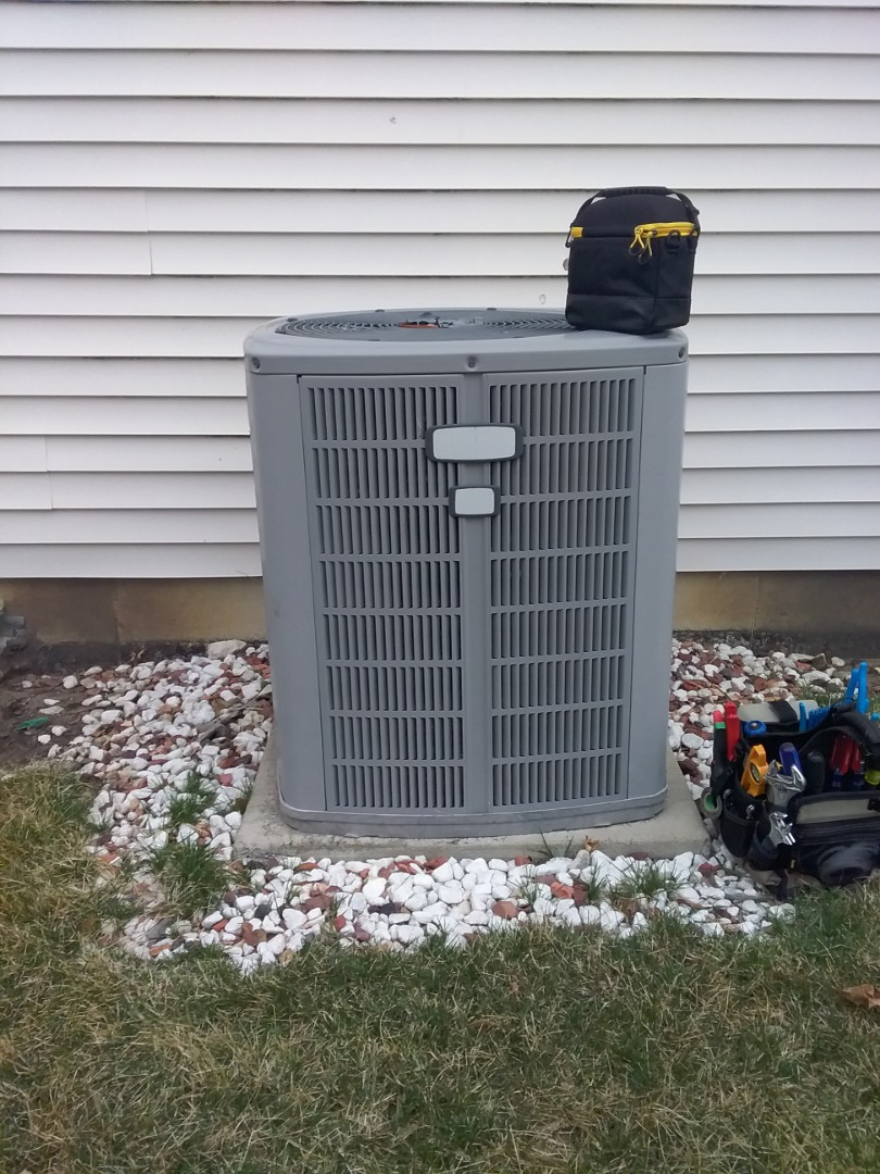 Aurora, IL - Completed spring maintenance on a american standard system.