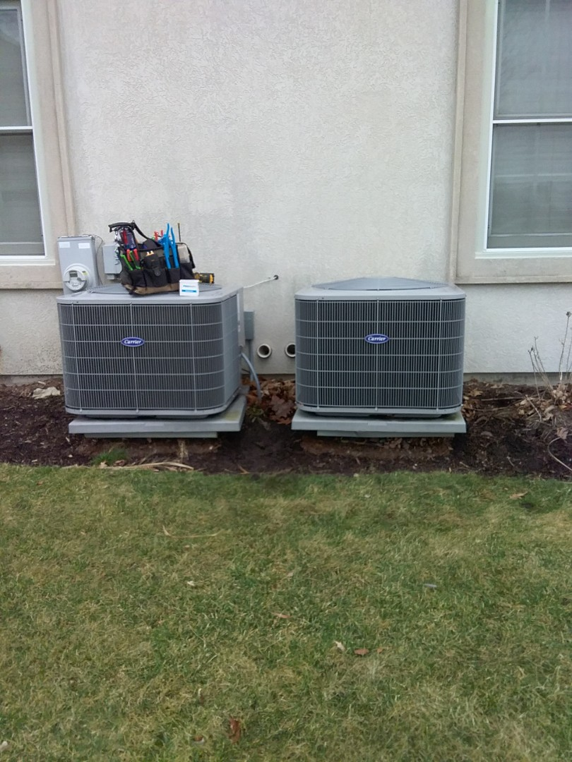 Aurora, IL - Completed spring maintenance on two carrier ac systems.