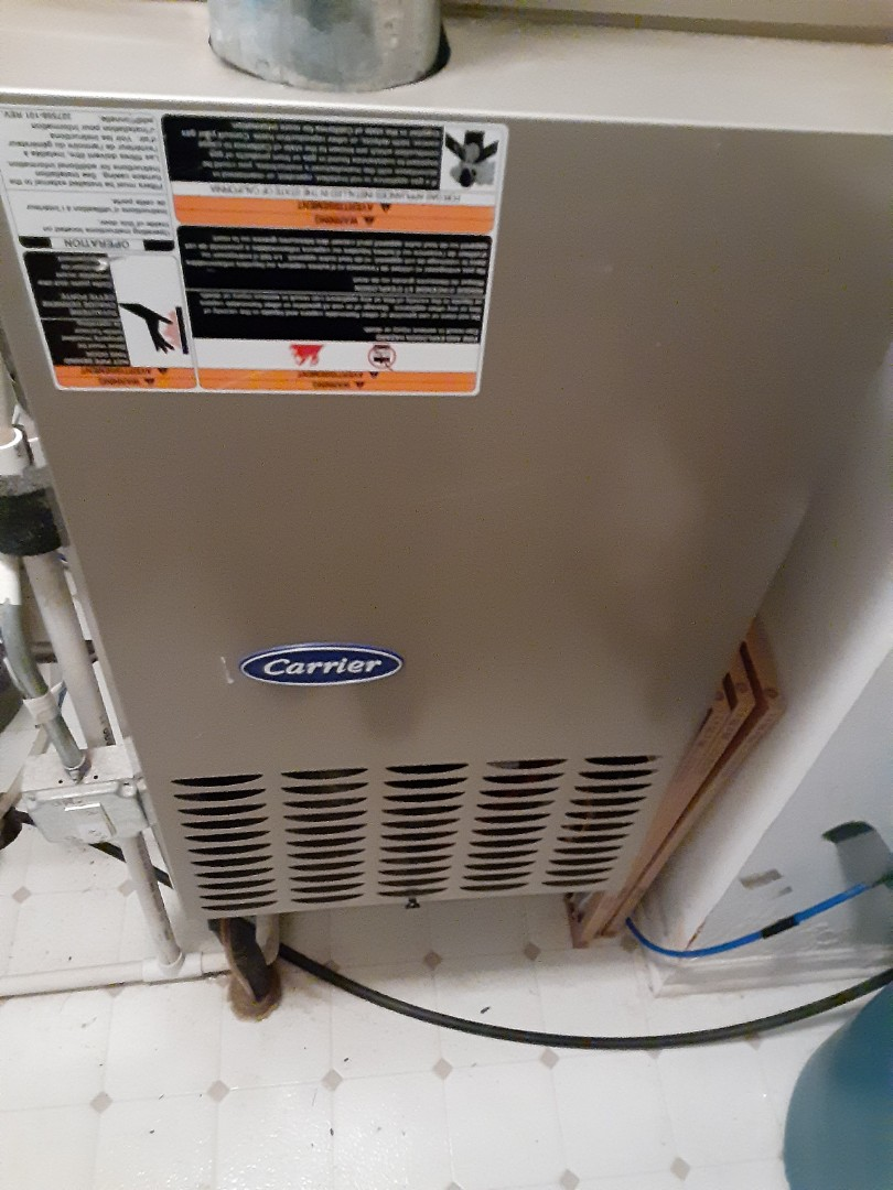 Crest Hill, IL - Complete inducer motor. Furnace is operating properly