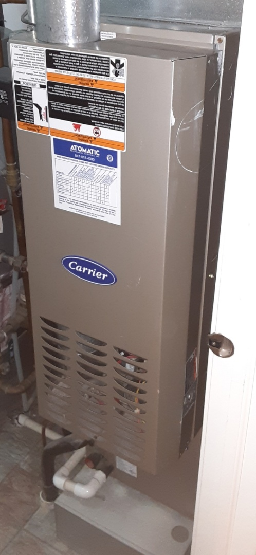 Lockport, IL - Complete inducer motor replacement. All is operating properly.