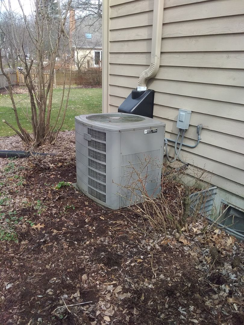 Naperville, IL - Completed spring maintenance on a american standard system.