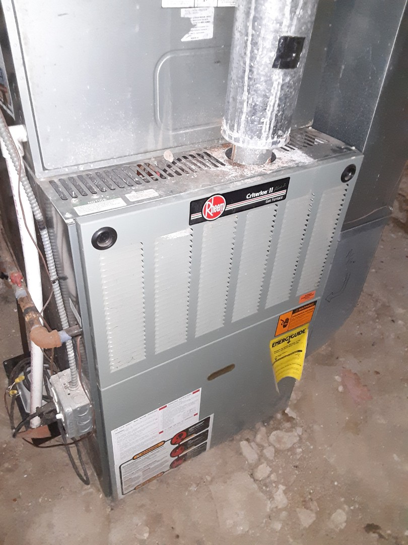 Naperville, IL - Complete furnace diagnostic. Dirty filter. All is operating properly at this time.