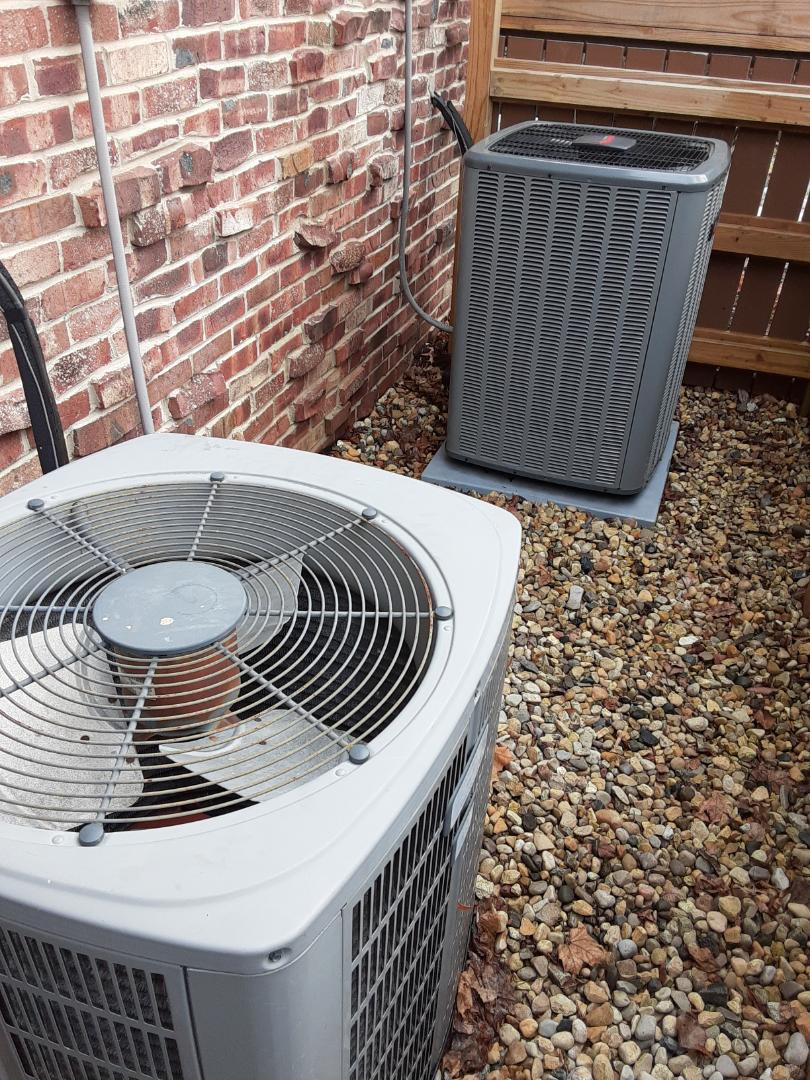 Naperville, IL - Complete 2 system AC maintenance. No recommendations at this time.