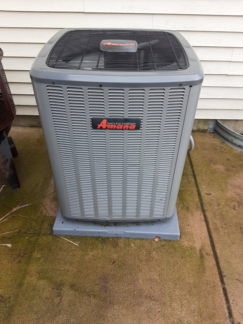 Complete ac maintenance. No recommendations.