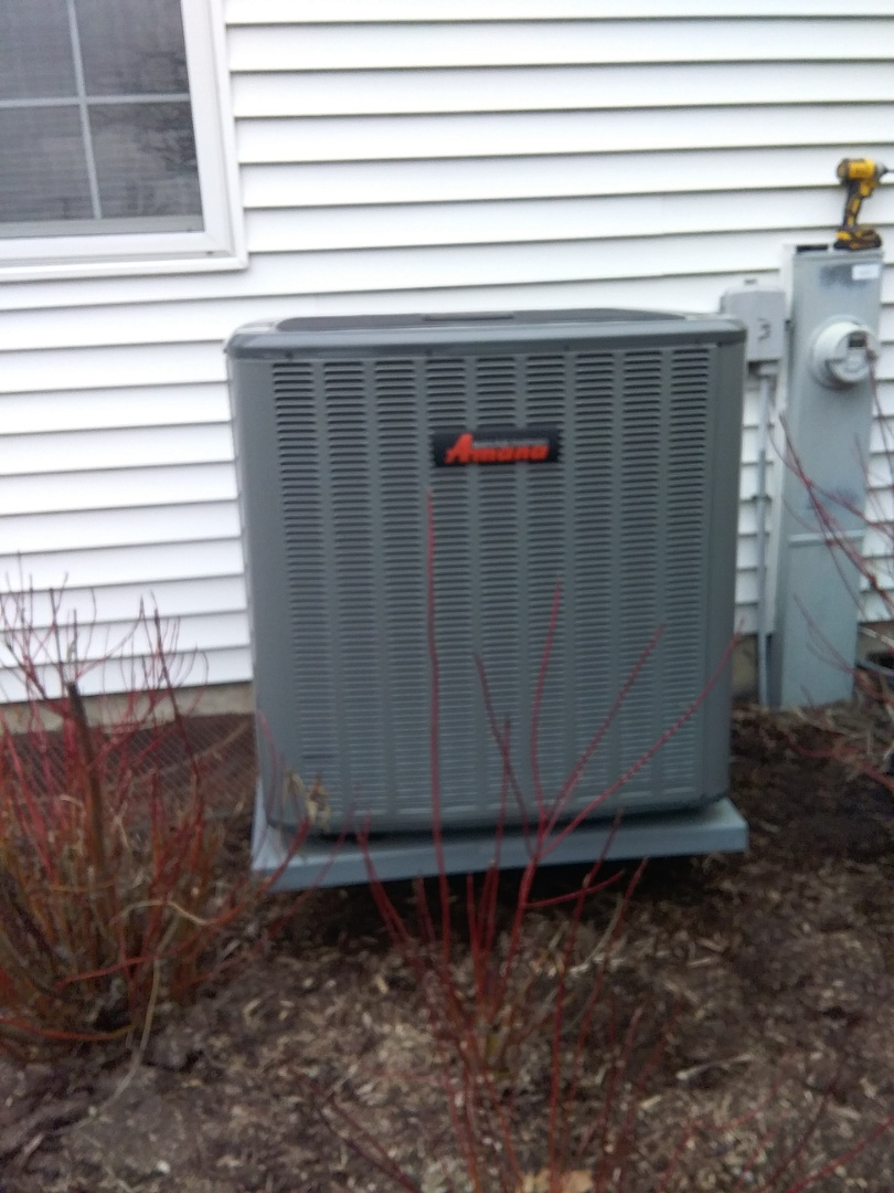 Oswego, IL - Completed spring maintenance on a Amana system