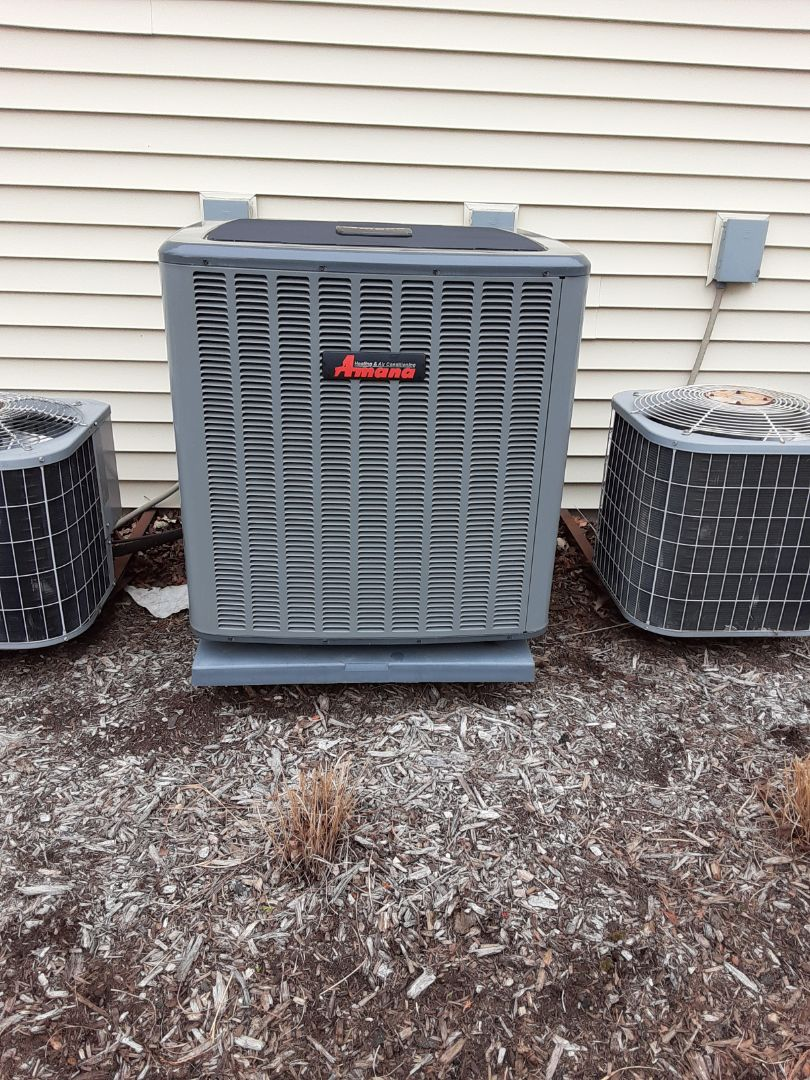 Naperville, IL - Complete ac maintenance. No recommendations at this time.