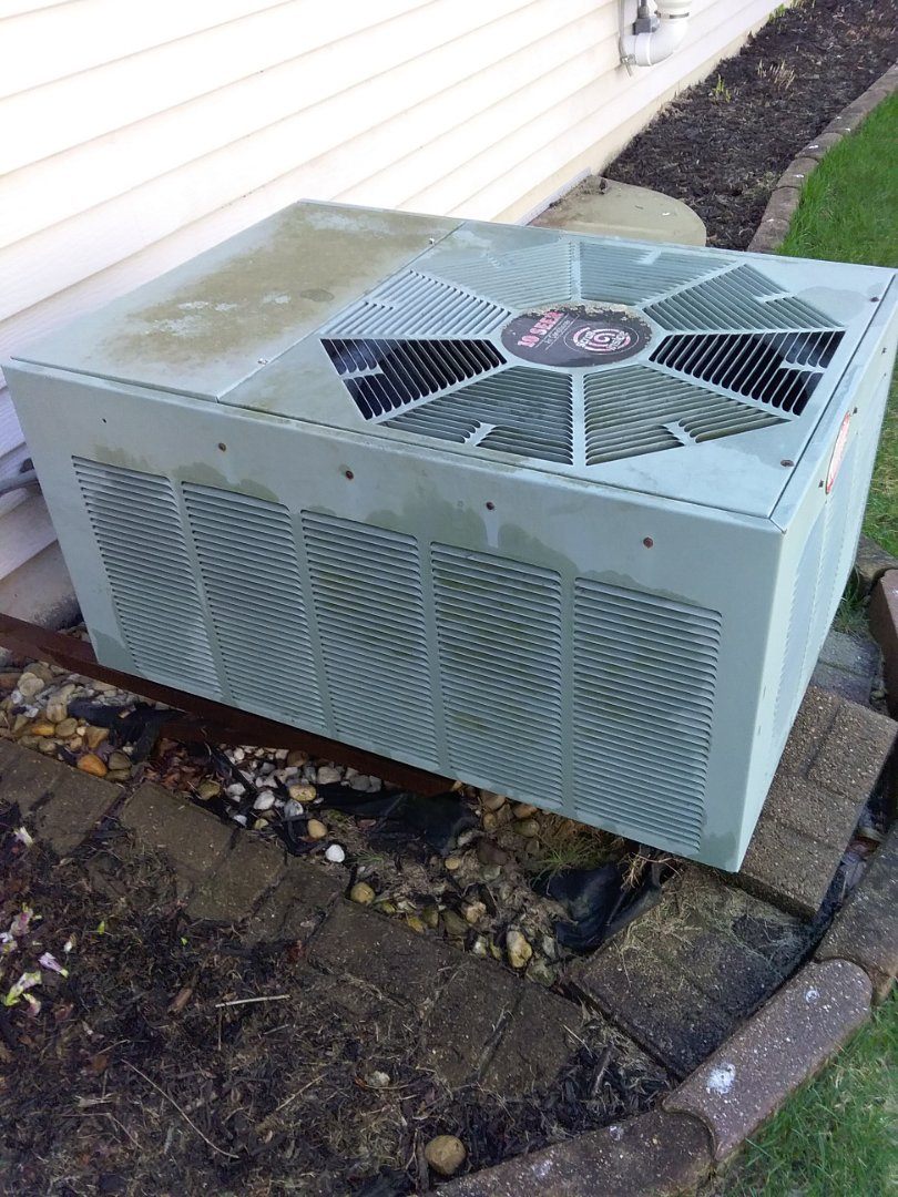 Completed spring maintenance on a rheem system.