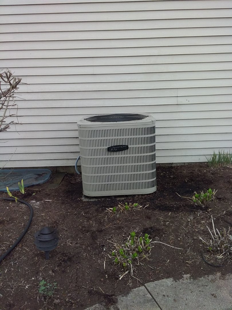 Completed spring maintenance on a armstrong air system