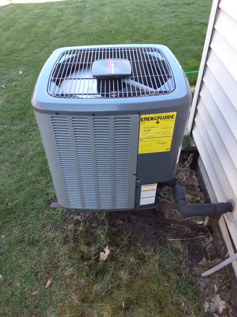 Montgomery, IL - Complete ac maintenance. All is operating properly at this time.