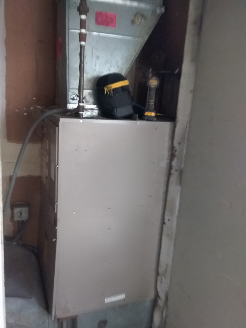 Completed furnace diagnostic on a national comfort all in one furnace and ac system.