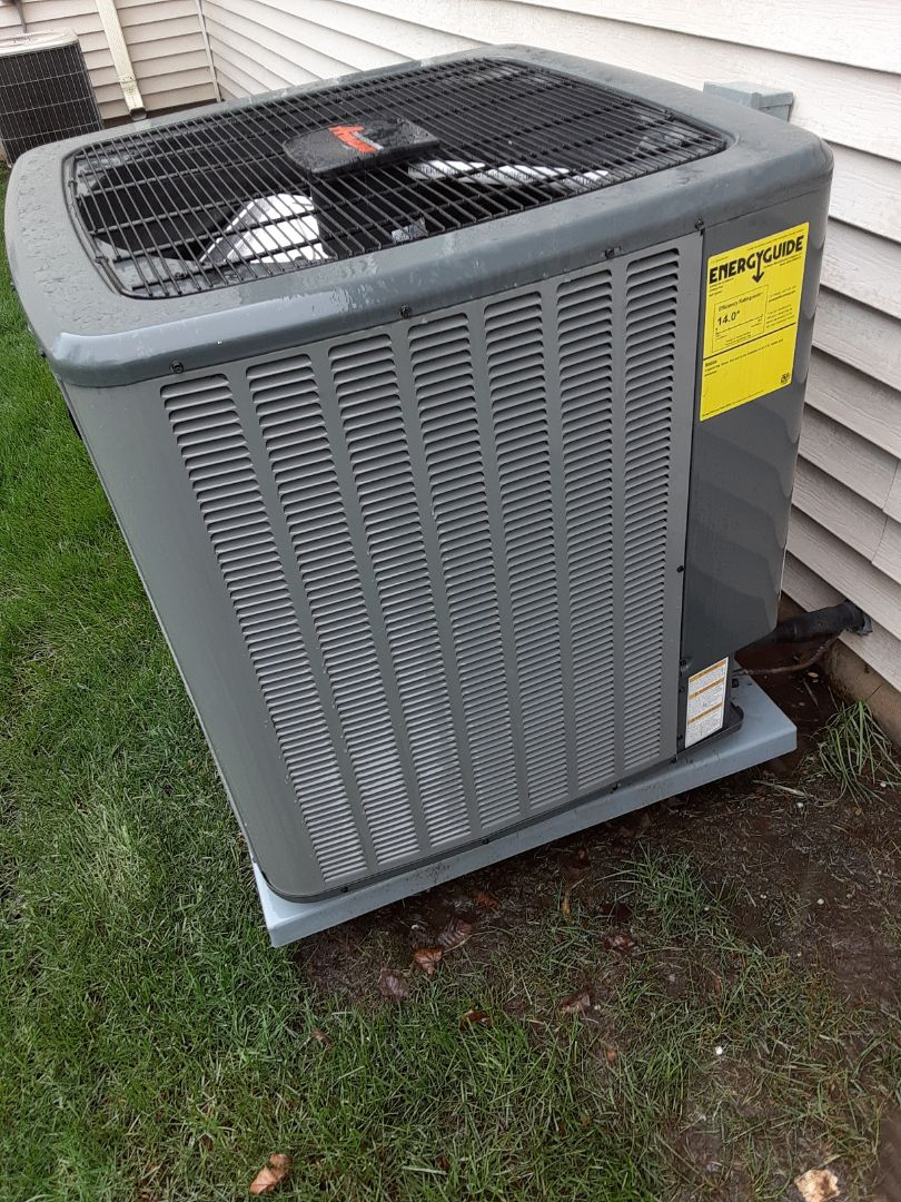 Romeoville, IL - Complete ac maintenance. All is operating properly.