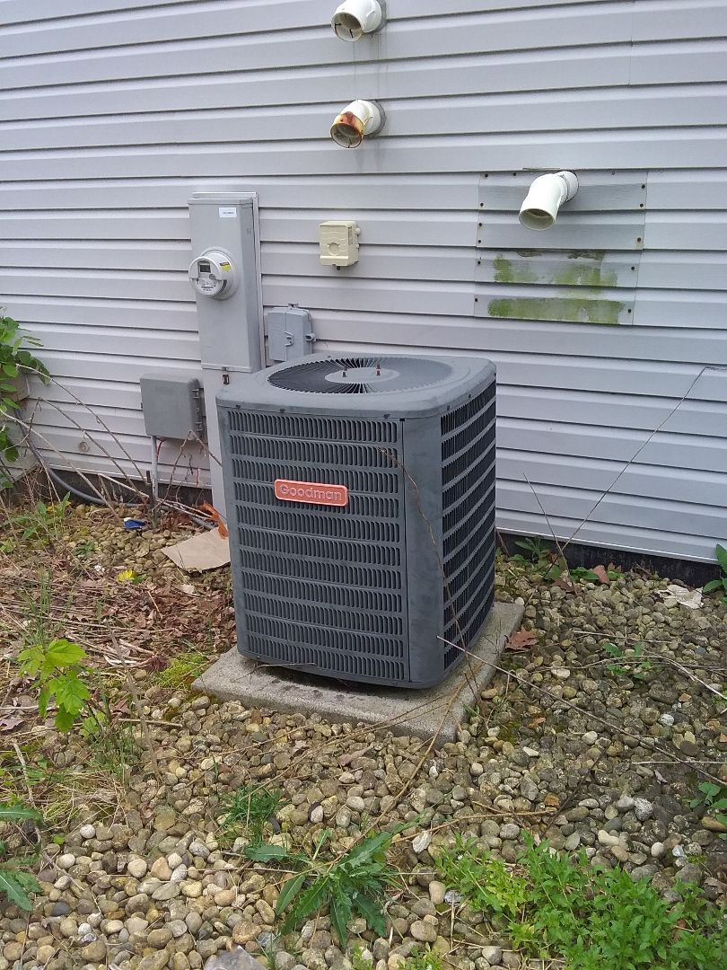 Complete a/c repairs on a goodman a/c system