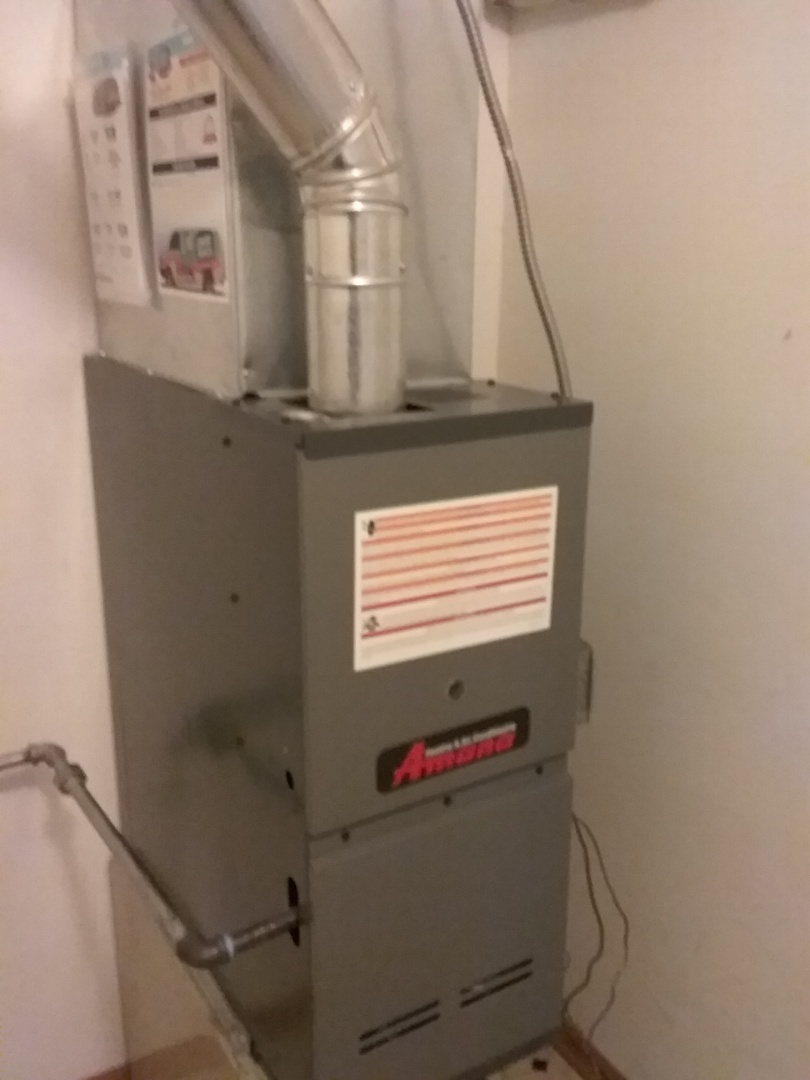 Romeoville, IL - Complete amana furnace & a/c install