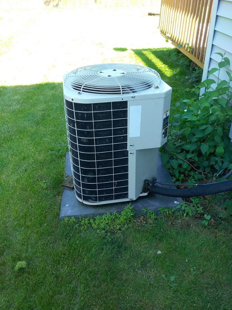 Completed spring maintenance on a Bryant system