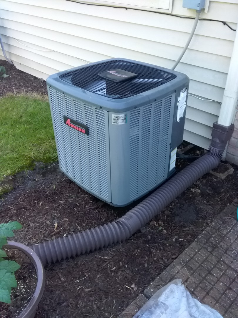 Crest Hill, IL - Completed spring maintenance on a Amana system