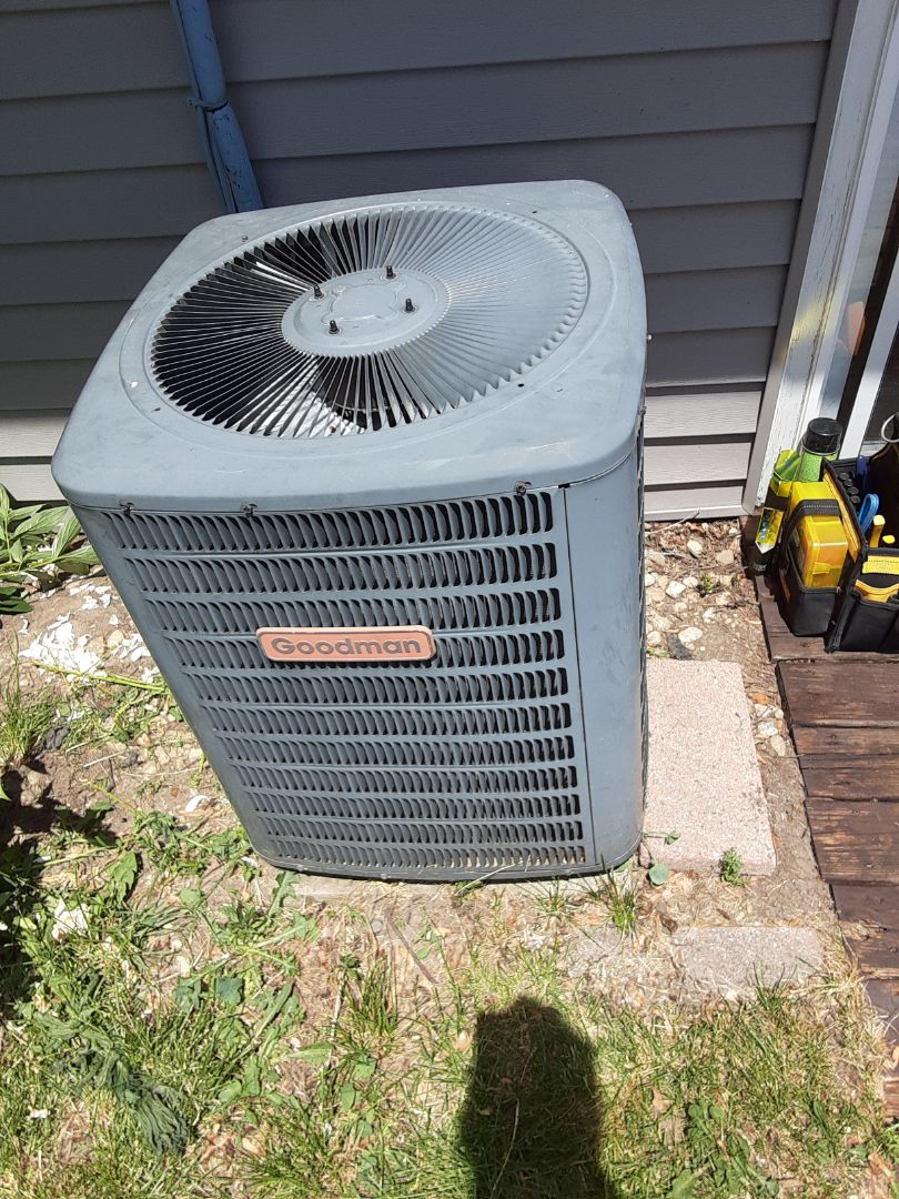 Lockport, IL - Complete ac repairs on goodman.