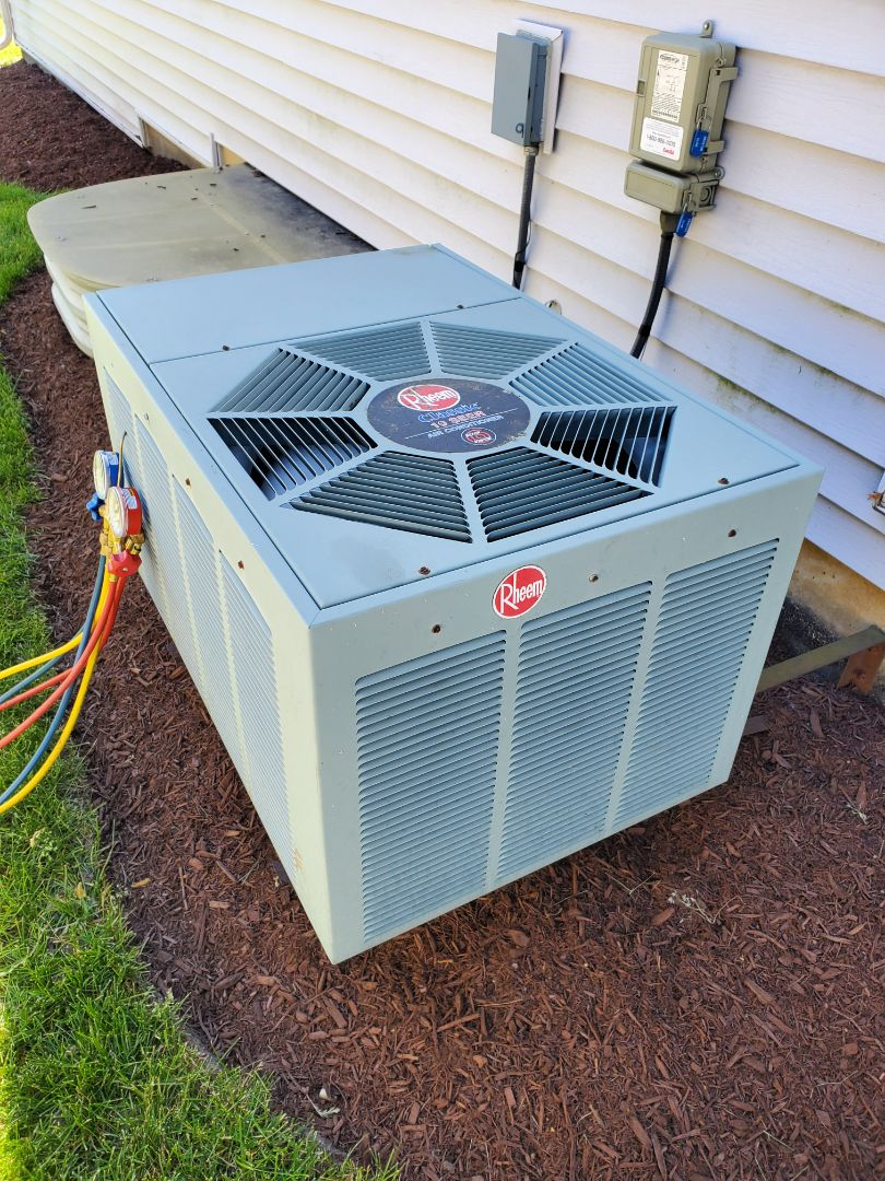 Romeoville, IL - Completed ac maintenance for our comfort club memever!