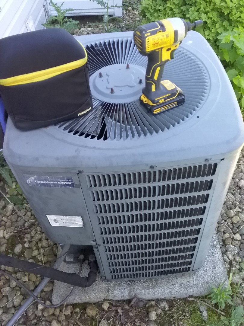 Completed spring maintenance on a goodman system.