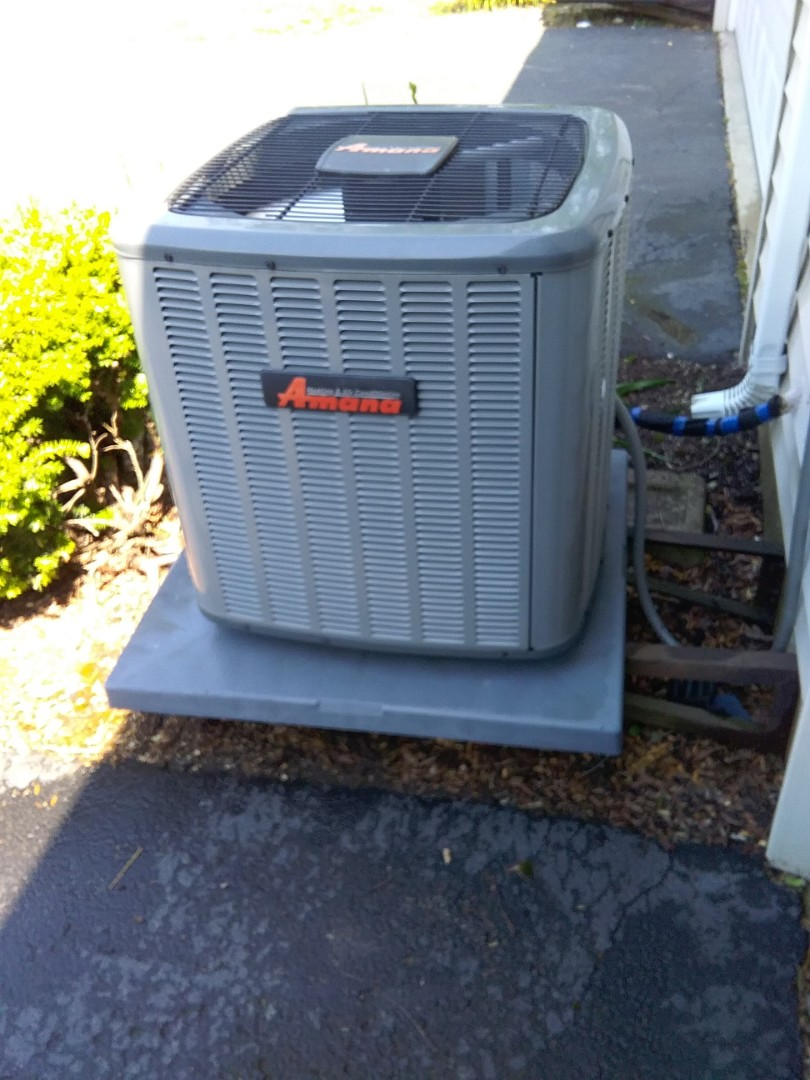 Joliet, IL - Completed spring maintenance on a Amana system.