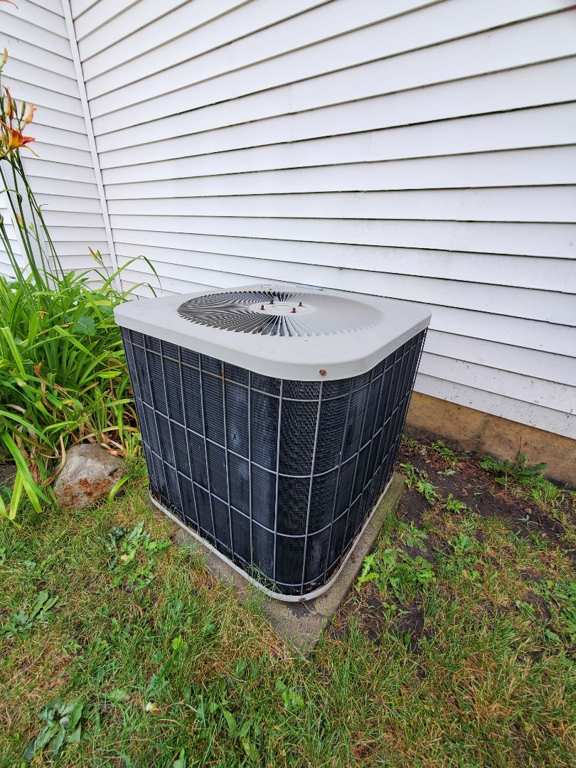 Aurora, IL - Successfully completed ac maintenance with little to no problems for our comfort club member!