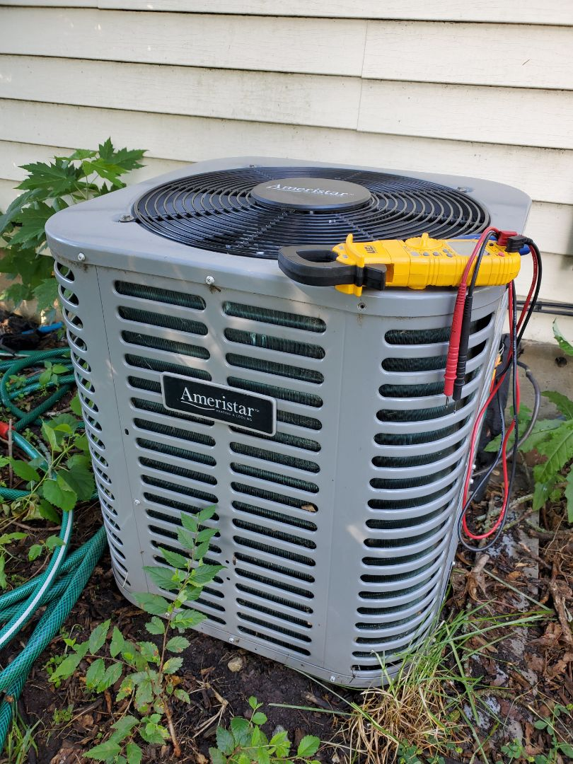 Romeoville, IL - Successfully completed ac maintenance with little to no problems for our comfort club member!
