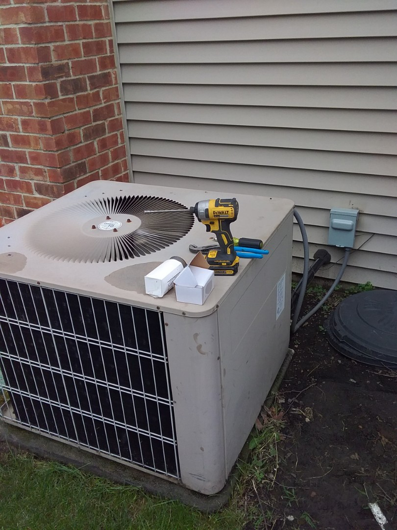 Naperville, IL - Completed spring maintenance on a airease system. Also repaired system.