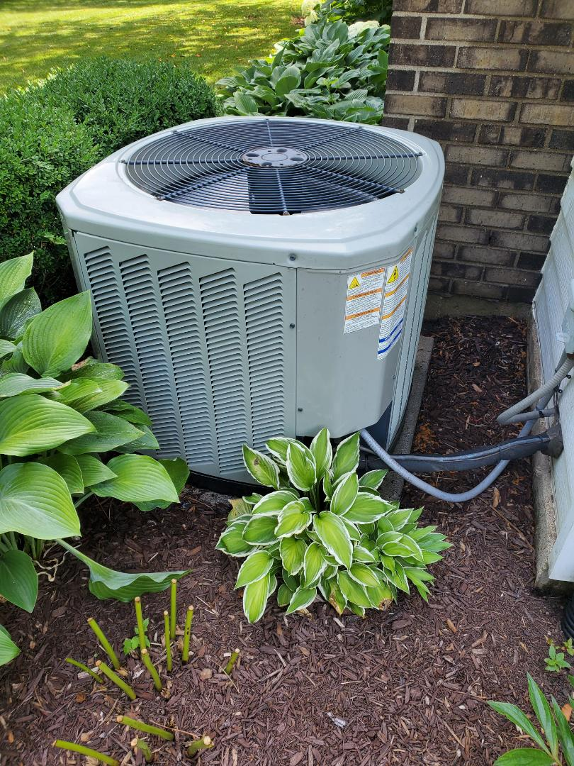 Naperville, IL - Successfully completed ac maintenance with little to no problems for our comfort club member!