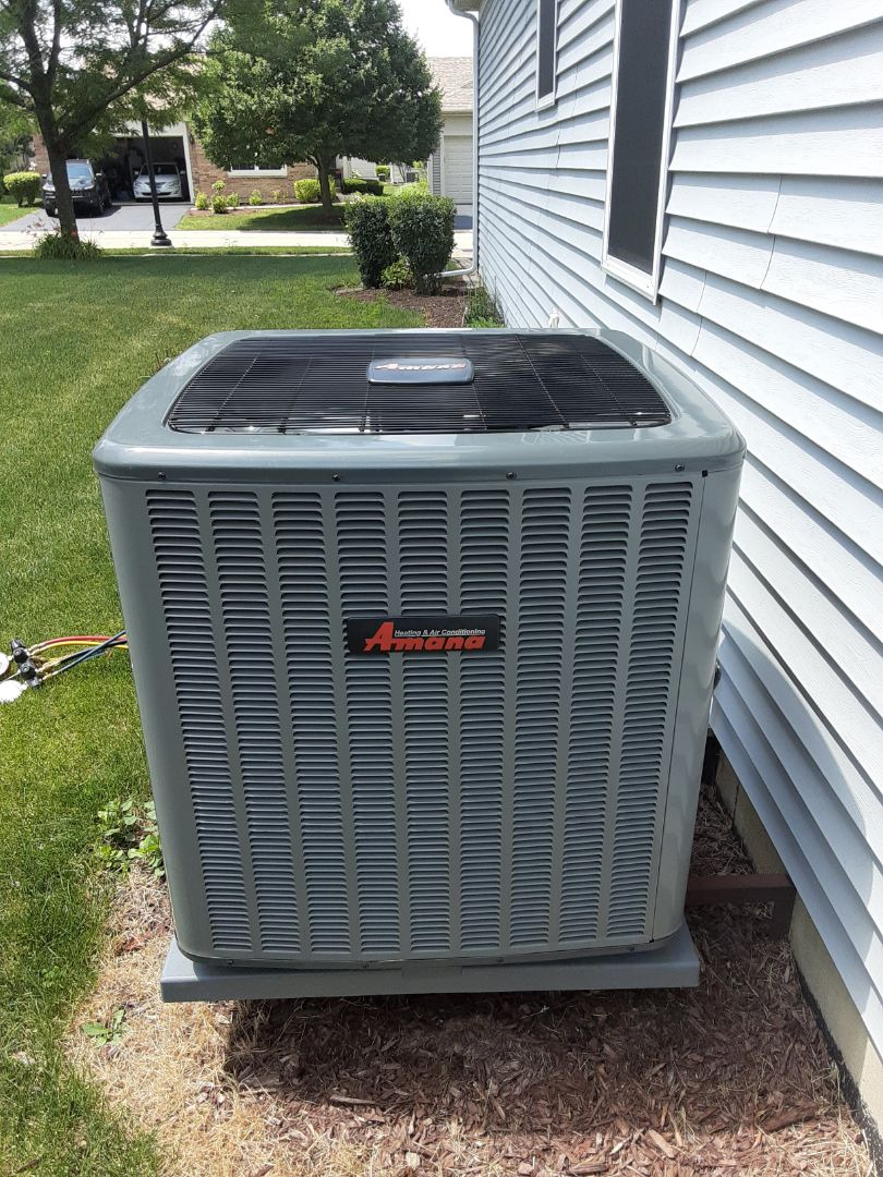 Crest Hill, IL - Complete ac maintenance. No recommendations at this time.