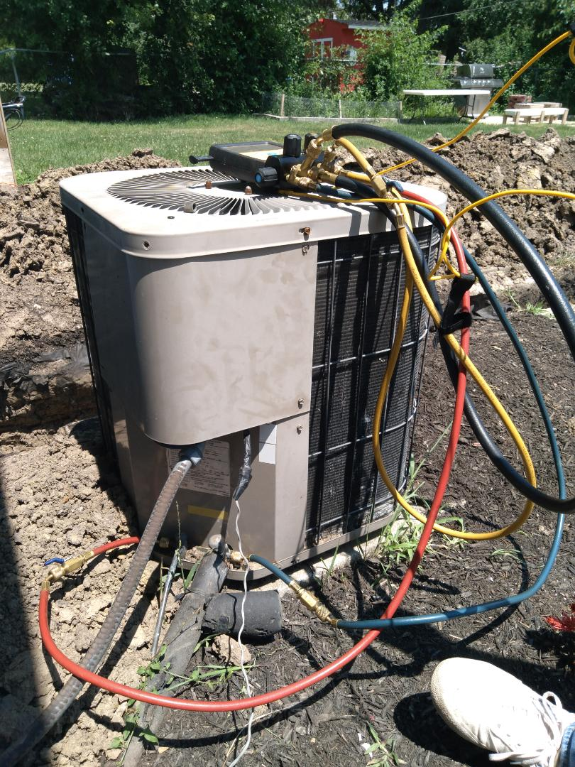 Joliet, IL - Diagnosed Goodman ac system