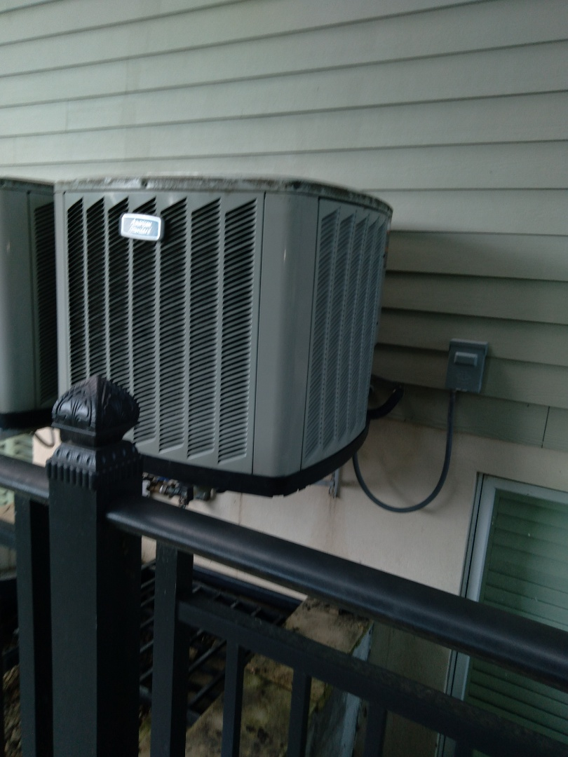 Plainfield, IL - Completed spring maintenance and diagnosed American standard ac system