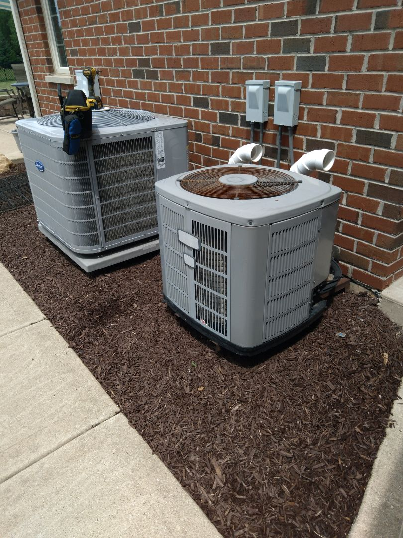 Plainfield, IL - Completed spring maintenance on both carrier and American standard systems