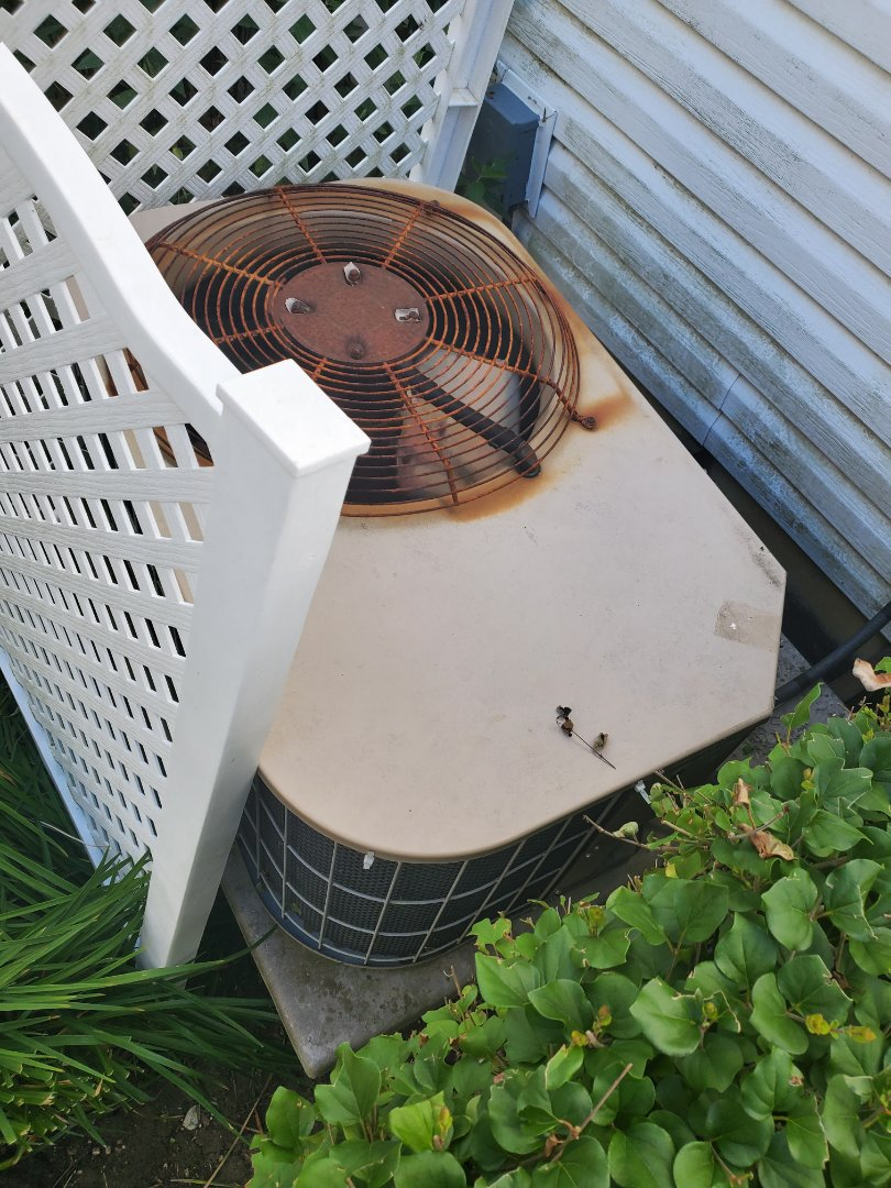 Successfully and accurately completed ac maintenance with little to no problems for our comfort club member.